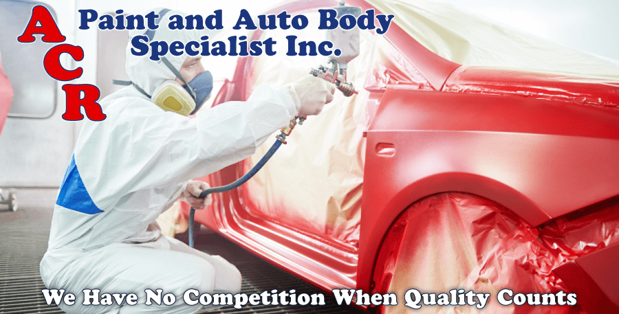 A.C.R. Paint and Autobody Specialist Inc._We Have No Competition When Quality Counts spray booth